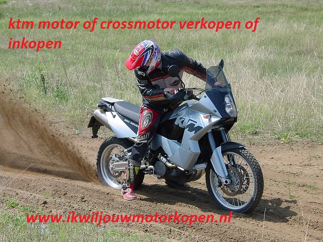 ktm motor of crossmotor verkopen of inkopen