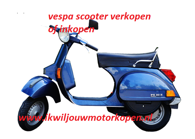 vespa scooter verkopen of inkopen